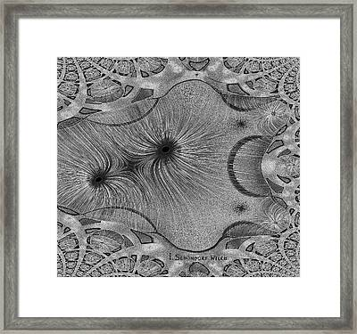 459 - Design Abstract 1 Framed Print by Irmgard Schoendorf Welch