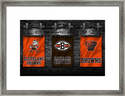 Cleveland Browns Framed Print