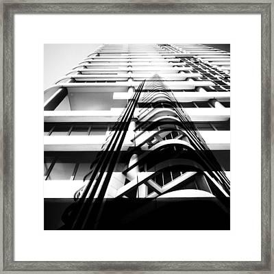 46 Frishman Street Framed Print by TelAvivPaparazzi Photography