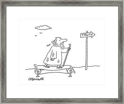 New Yorker April 16th, 2007 Framed Print
