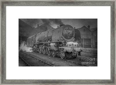 46244 King George Vi At Carlisle Framed Print