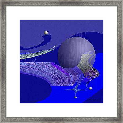 463 - City Of Future 4   Framed Print by Irmgard Schoendorf Welch