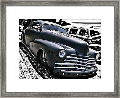 Framed Print featuring the photograph '47 Chevy Lowrider by Victor Montgomery