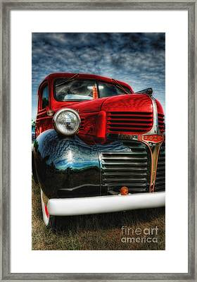 Framed Print featuring the photograph 47 Dodge Pickup by Trey Foerster