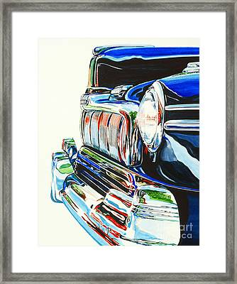 47 Mercury Framed Print by Rick Mock