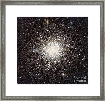 47 Tucanae, A Globular Cluster Located Framed Print by Roberto Colombari