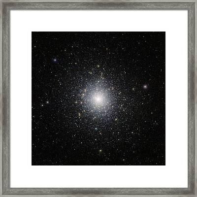 47 Tucanae Star Cluster Framed Print by Eso/m.-r. Cioni/vista Magellanic Cloud Survey