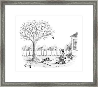 New Yorker November 27th, 2006 Framed Print