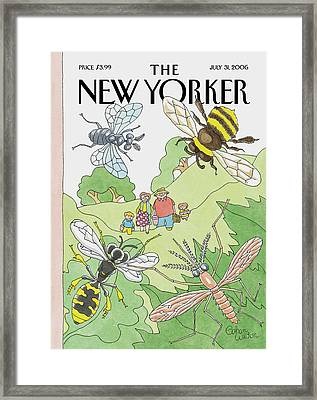 New Yorker July 31st, 2006 Framed Print