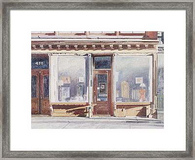471 West Broadway Soho New York City Framed Print by Anthony Butera