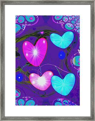 472 -  Valentine Hearts  ... Framed Print