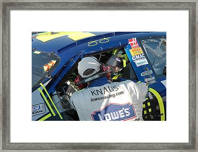 48 6 Time Framed Print by Kevin Cable