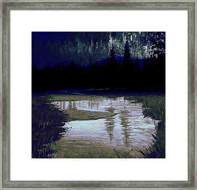 Cosmic Light Series  Framed Print
