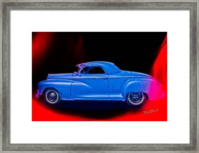 48 Dodge Salesman Coupe Rat Rod Framed Print