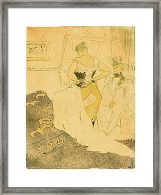 Henri De Toulouse-lautrec French, 1864 - 1901 Framed Print