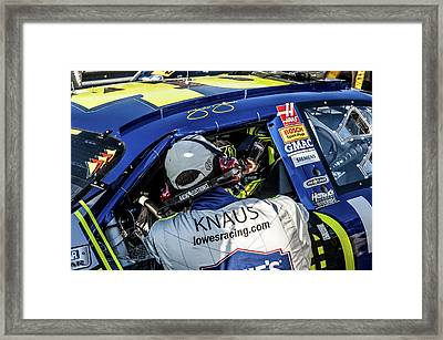 48 Looking At Me Framed Print by Kevin Cable