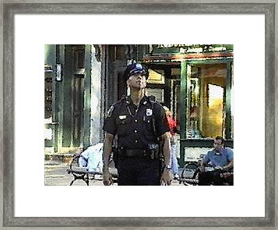 #47 Sands Of Time Framed Print