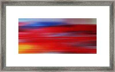Series Mesmerizing Landscapes Framed Print
