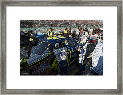 48 Team Framed Print by Kevin Cable