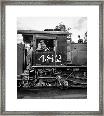 Framed Print featuring the photograph 482 by Ross Henton