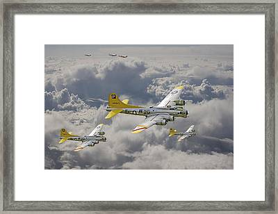 487th Bomb Group Framed Print by Pat Speirs