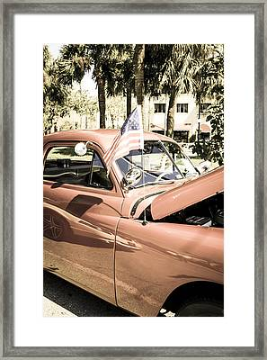 49 Plymouth Framed Print by Chris Smith