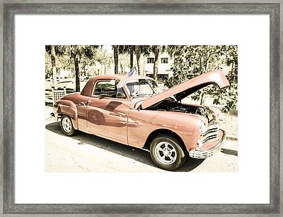 49 Plymouth Coupe Framed Print by Chris Smith