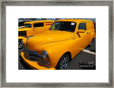 '49 Plymouth Sedan Delivery Framed Print by Mark Spearman