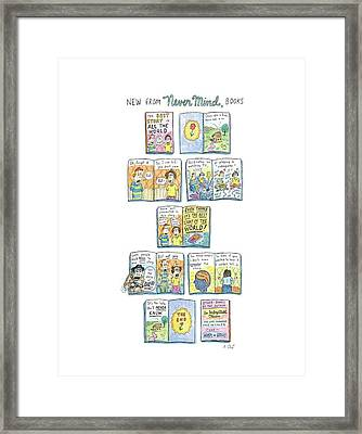 New Yorker April 7th, 2008 Framed Print by Roz Chast