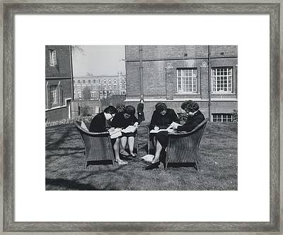 Concentration Framed Print by Retro Images Archive