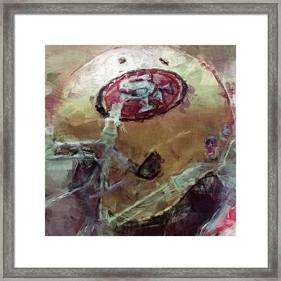 49ers Art Framed Print by David G Paul