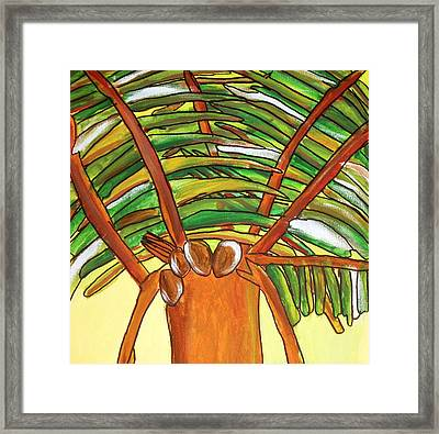 4coconuts Framed Print by Artists With Autism Inc