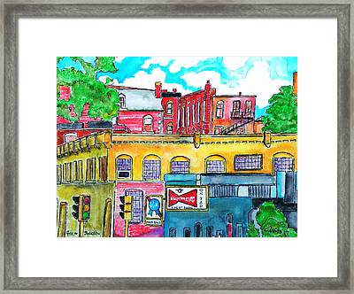 4th And Jackson Topeka Kansas 1974 Framed Print