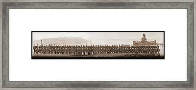 4th Co. 3rd Corps. 1st Artillery Park Framed Print