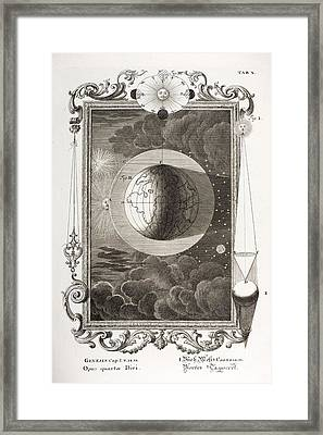 4th Day Of Creation, Scheuchzer, 1731 Framed Print