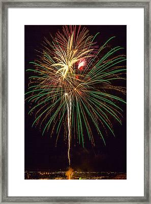 4th July #5 Framed Print