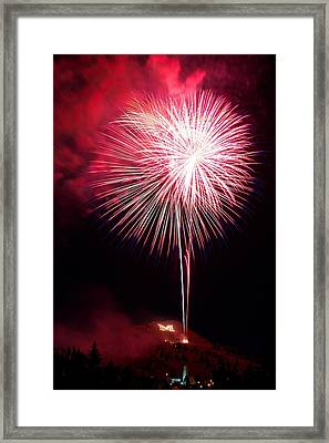 Framed Print featuring the photograph 4th July Butte Mt 2013 by Kevin Bone