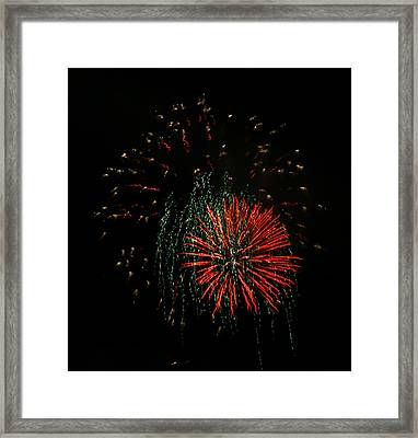 4th Of July 5 Framed Print by Marilyn Hunt