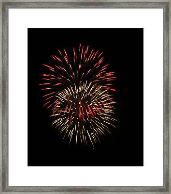 4th Of July 6 Framed Print by Marilyn Hunt