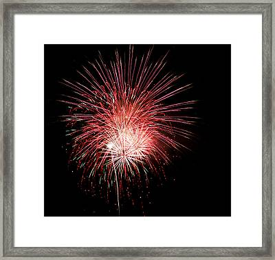 4th Of July 8 Framed Print by Marilyn Hunt