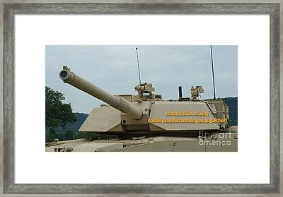 4th Of July Abrams Framed Print