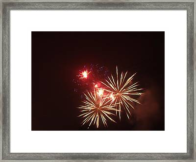 4th Of July Framed Print by Danielle Jackitis