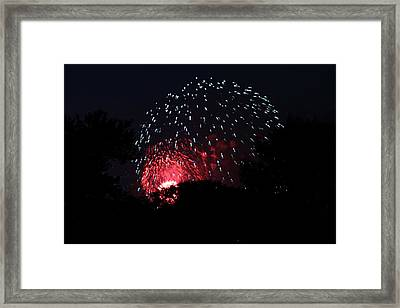 4th Of July Fireworks - 011316 Framed Print by DC Photographer