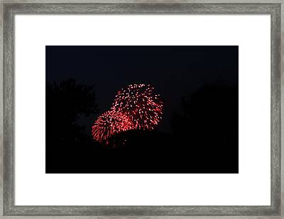 4th Of July Fireworks - 011317 Framed Print by DC Photographer