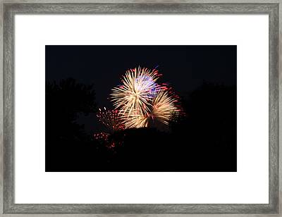 4th Of July Fireworks - 011320 Framed Print by DC Photographer