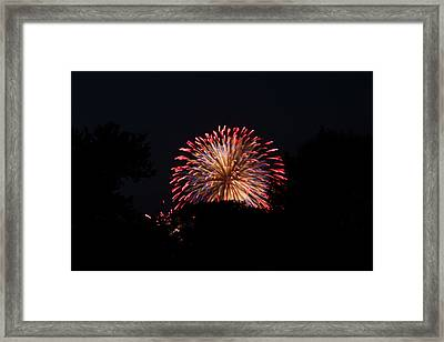 4th Of July Fireworks - 011322 Framed Print by DC Photographer