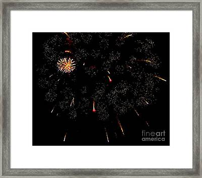 Framed Print featuring the photograph 4th Of July by Jay Nodianos
