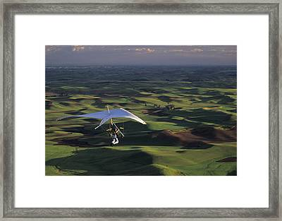 4th Of July Steptoe Butte Framed Print by Latah Trail Foundation