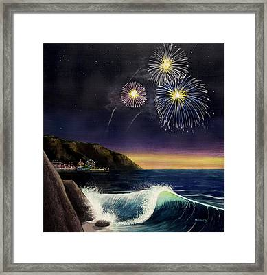 4th On The Shore Framed Print by Jack Malloch