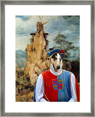 Collie Smooth - Smooth Collie Art Canvas Print Framed Print by Sandra Sij